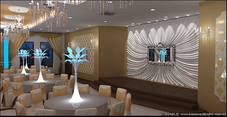 Sala Evenimente 6thSense Interiors Design interior Cluj