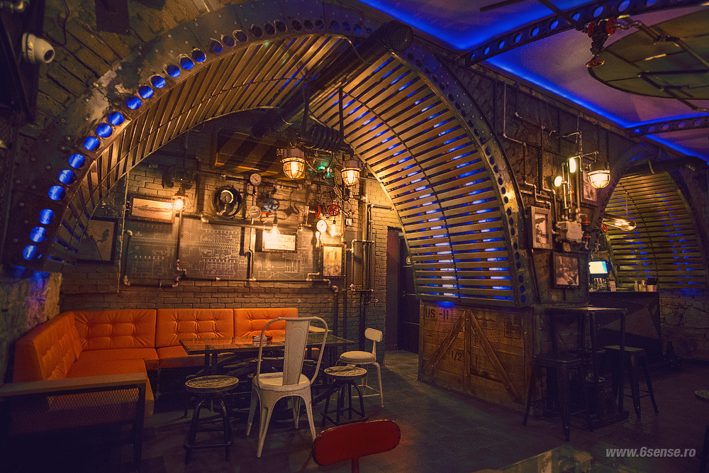 Submarine Pub 6th Sense Interiors Design Interior Cluj