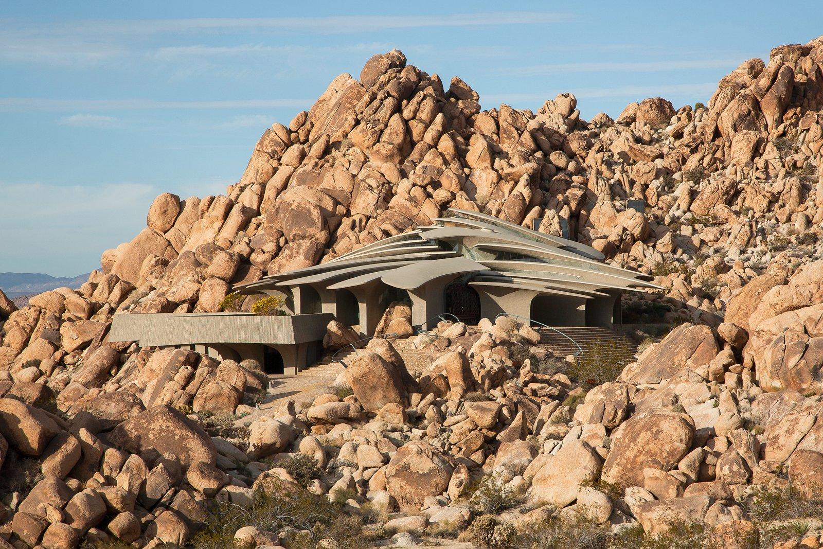 High Desert House,  o icoană arhitecturală din altă lume